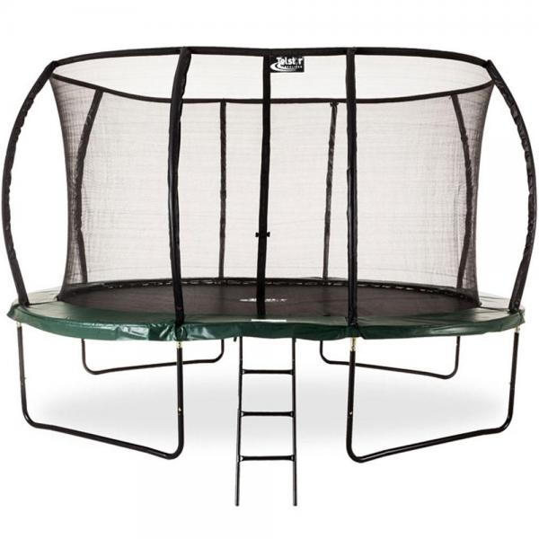 Telstar Jump Capsule Deluxe MK II 14ft Round Trampoline and Enclosure Package with Ladder, and Cover-0