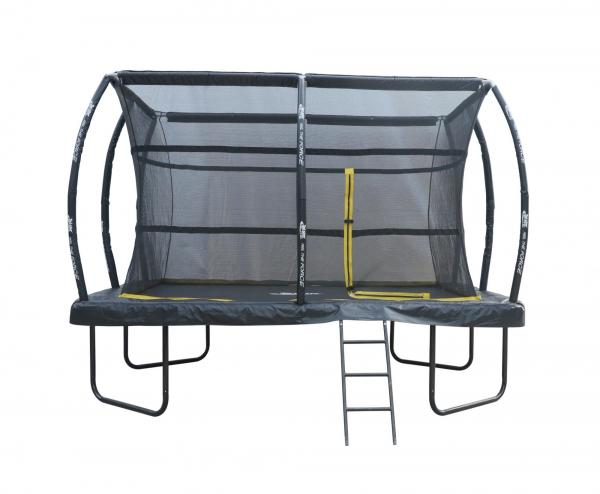 Telstar Elite 8ft x 12ft Rectangle Trampoline and Enclosure Package with Ladder and Cover -13925