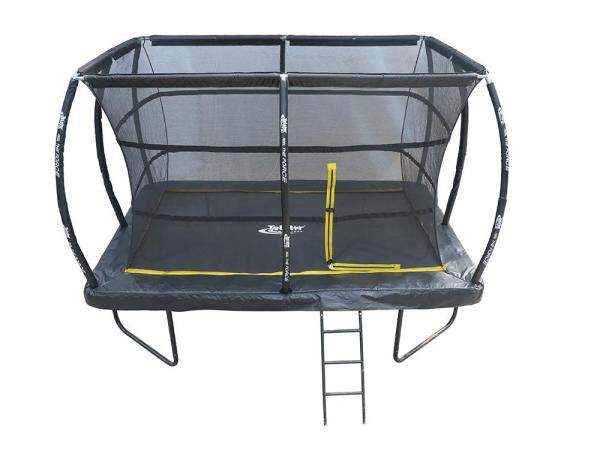 Telstar Elite 8ft x 12ft Rectangle Trampoline and Enclosure Package with Ladder and Cover -13930