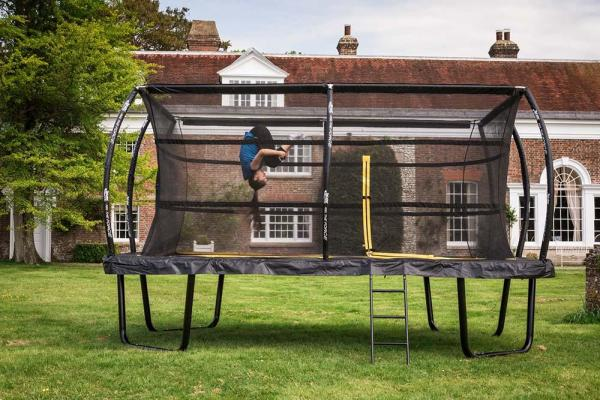 Telstar Elite 10ft x 15ft Rectangle Trampoline and Enclosure Package with Ladder and Cover -13919