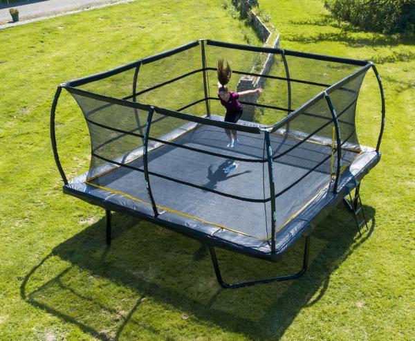 Telstar Elite 15ft x 15ft Square Trampoline and Enclosure Package with Ladder-13905