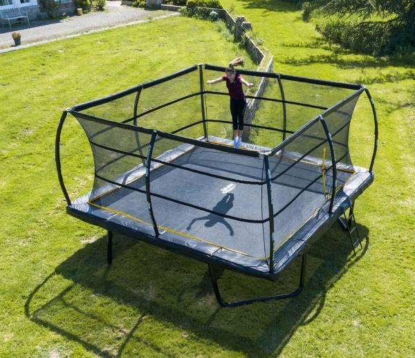 Telstar Elite 15ft x 15ft Square Trampoline and Enclosure Package with Ladder-13907
