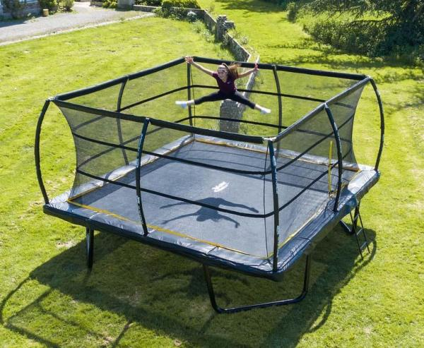 Telstar Elite 15ft x 15ft Square Trampoline and Enclosure Package with Ladder-13913