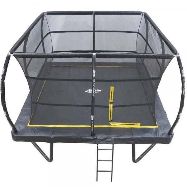 Telstar Elite 15ft x 15ft Square Trampoline and Enclosure Package with Ladder-13903
