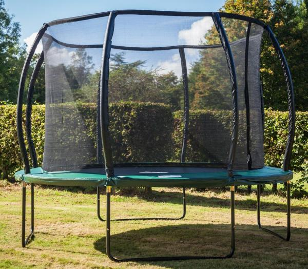 Telstar Jump Capsule Deluxe MK II 14ft Round Trampoline and Enclosure Package with Ladder, and Cover-12020