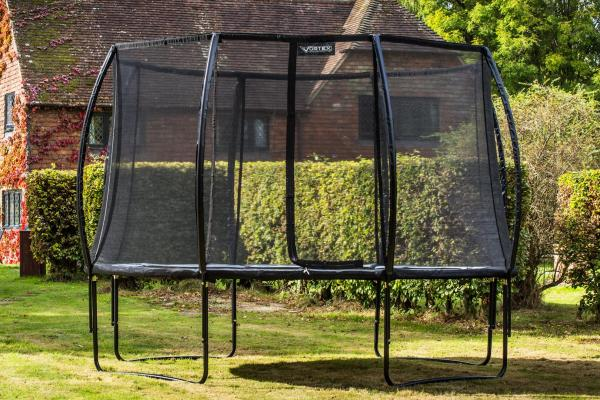 Telstar Vortex Black Edition 10ft Round Trampoline and Enclosure Package -12080