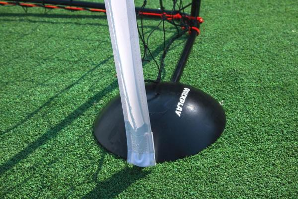 Quickplay Kickster Football Goal 8' x 5' and Rebounder System-12908