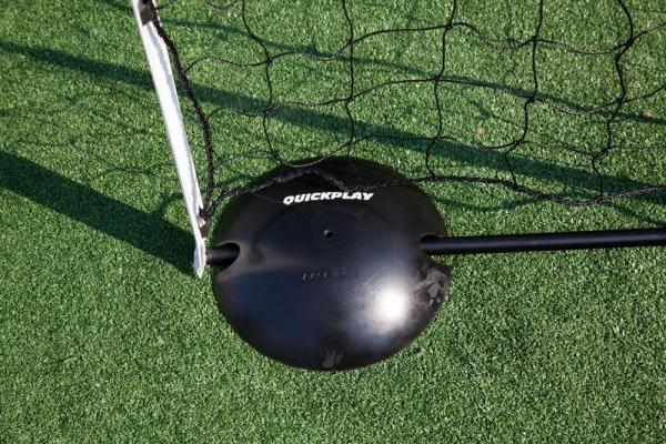 Quickplay Kickster Football Goal 8' x 5' and Rebounder System-12909