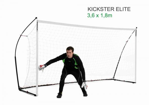 Quickplay Kickster Elite Portable Football Goal with Weighted Base 12' x 6'-0