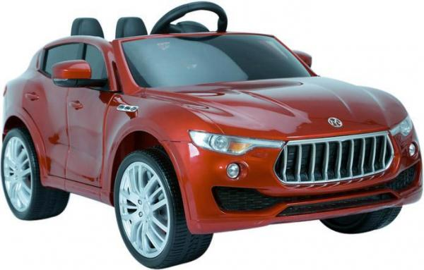 Kids Maserati Levante Style 4x4 12v Electric / Battery Ride On Jeep - Red-0