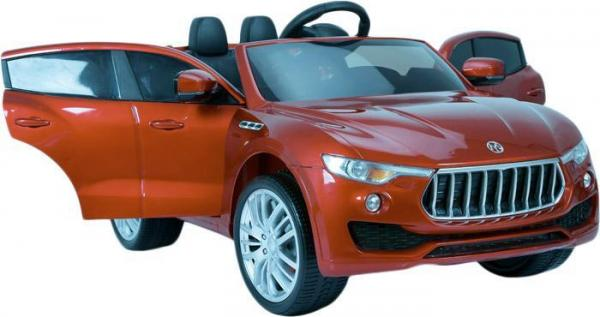 Kids Maserati Levante Style 4x4 12v Electric / Battery Ride On Jeep - Red-12619
