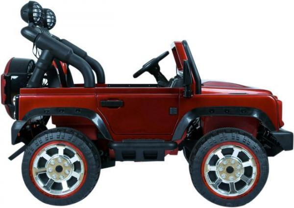 Kids Rocket Courage 2 Seater 12v Electric / Battery Ride on Jeep 4x4 Red-12641