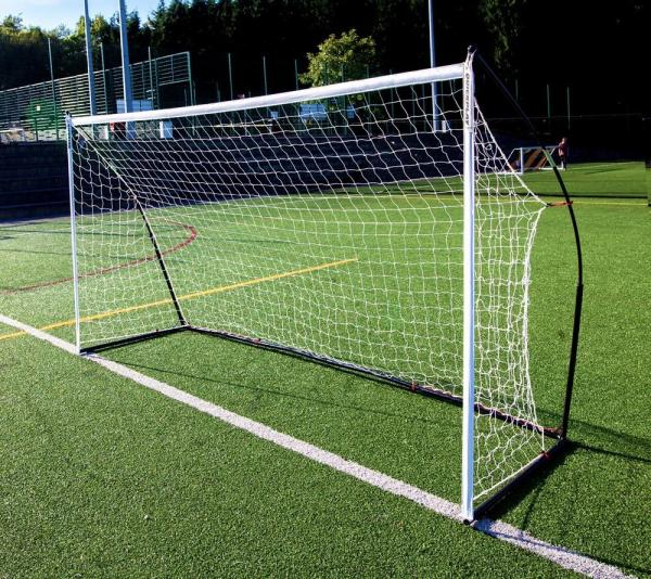 Quickplay Kickster Elite Portable Football Goal with Weighted Base 3m x 2m-0