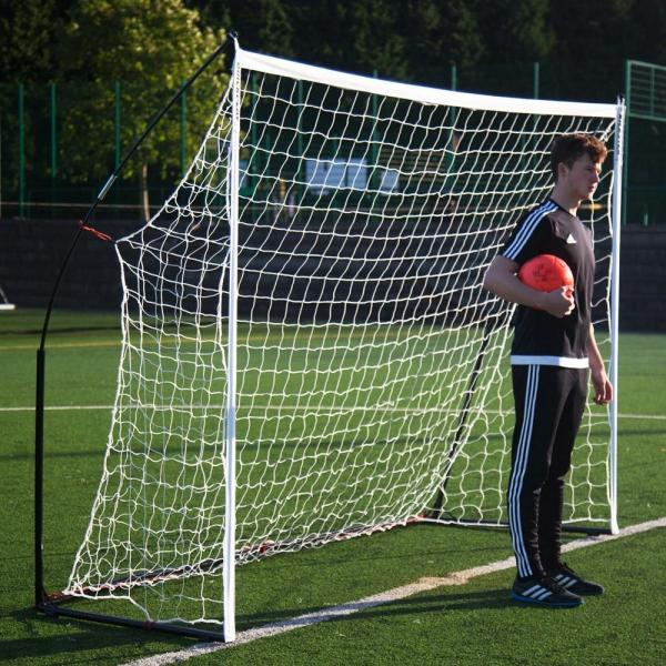 Quickplay Kickster Elite Portable Football Goal with Weighted Base 3m x 2m-12863