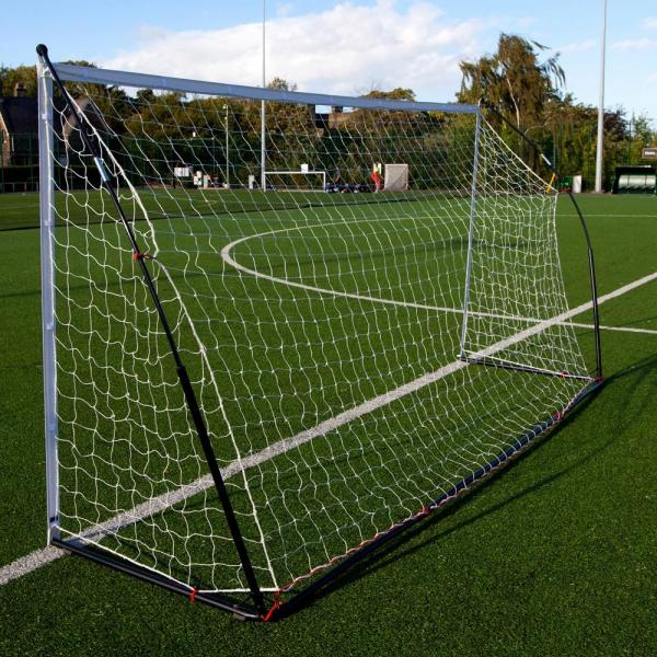 Quickplay Kickster Elite Portable Football Goal with Weighted Base 3m x 2m-12861