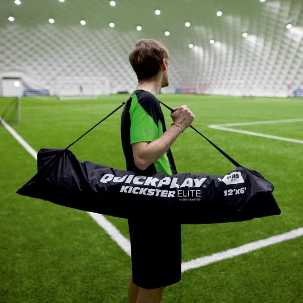 Quickplay Kickster Elite Portable Football Goal with Weighted Base 3m x 2m-12862
