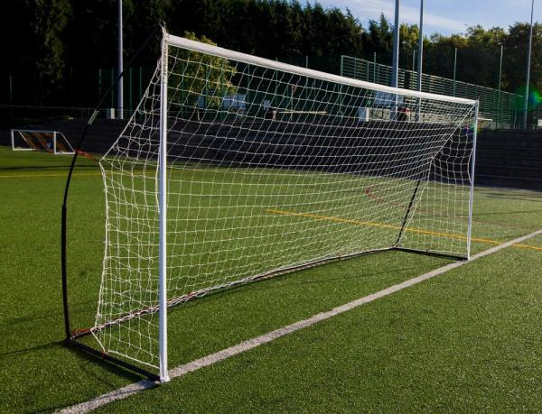 Quickplay Kickster Elite Portable Football Goal with Weighted Base 5m x 2m-0