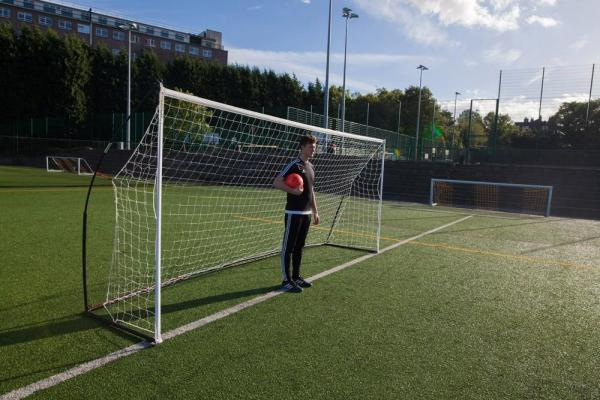 Quickplay Kickster Elite Portable Football Goal with Weighted Base 5m x 2m-12888
