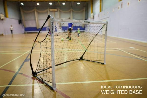 Quickplay Kickster Elite Portable Football Goal with Weighted base 4.9' x 3'-12849