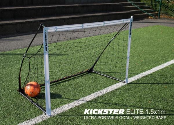 Quickplay Kickster Elite Portable Football Goal with Weighted base 4.9' x 3'-12851