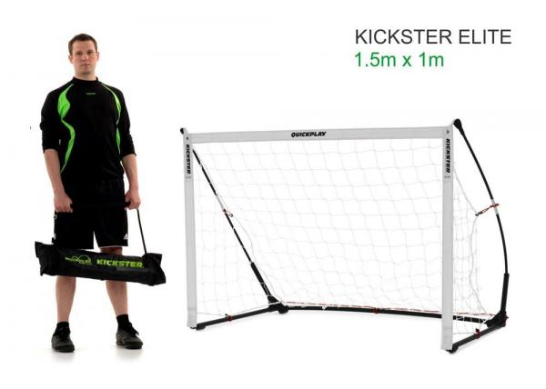 Quickplay Kickster Elite Portable Football Goal with Weighted base 4.9' x 3'-0