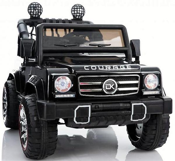 Kids Rocket Courage 2 Seater 12v Electric / Battery Ride on Jeep 4x4 Black-0