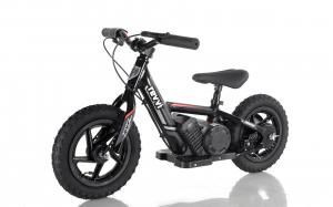 "Lithium Revvi 12"" Kids Electric Dirt Bike - 24v Motorbike - Black-0"