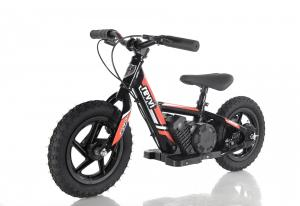 "Revvi 12"" Kids Electric / Lithium Battery Dirt Bike - 24v Motorbike Red-0"