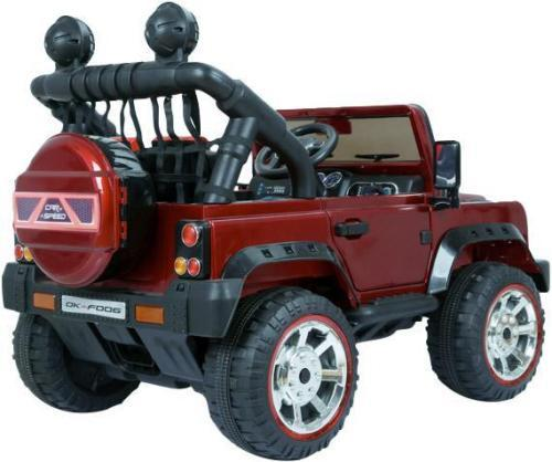 Kids Rocket Courage 2 Seater 12v Electric / Battery Ride on Jeep 4x4 Red-12642