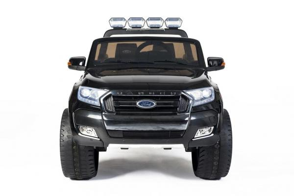 Ford Licensed 2 Seater Ranger Wildtrak Pickup 4WD Electric Ride on Car Jeep - Black -13035
