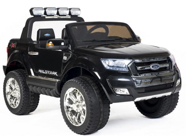 Ford Licensed 2 Seater Ranger Wildtrak Pickup 4WD Electric Ride on Car Jeep - Black -13032