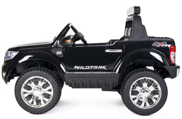 Ford Licensed 2 Seater Ranger Wildtrak Pickup 4WD Electric Ride on Car Jeep - Black -13036