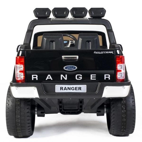 Ford Licensed 2 Seater Ranger Wildtrak Pickup 4WD Electric Ride on Car Jeep - Black -13033