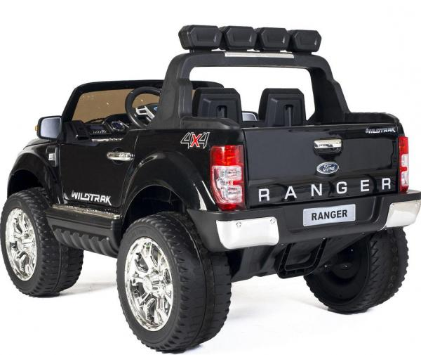 Ford Licensed 2 Seater Ranger Wildtrak Pickup 4WD Electric Ride on Car Jeep - Black -13037