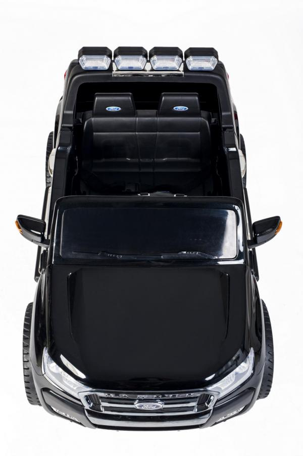 Ford Licensed 2 Seater Ranger Wildtrak Pickup 4WD Electric Ride on Car Jeep - Black -13034