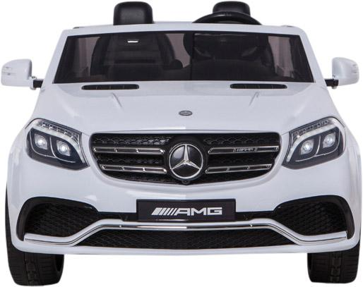 Mercedes 2 seater Licensed GLS 63 AMG SUV 4WD Jeep Electric Battery Ride on Car White-12932