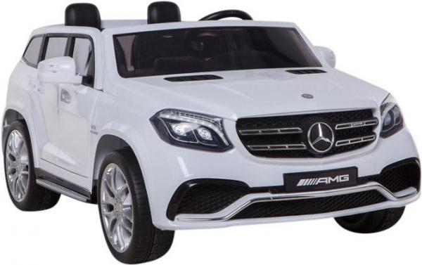 Mercedes 2 seater Licensed GLS 63 AMG SUV 4WD Jeep Electric Battery Ride on Car White-12928