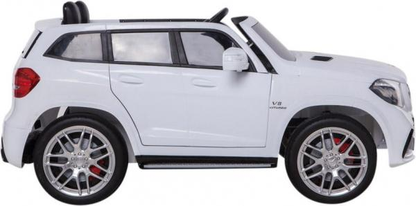 Mercedes 2 seater Licensed GLS 63 AMG SUV 4WD Jeep Electric Battery Ride on Car White-12927