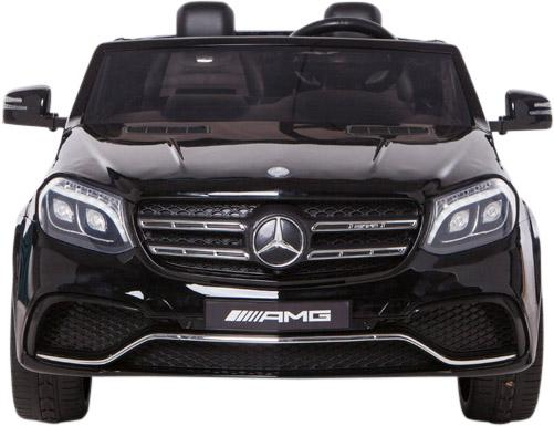Mercedes 2 seater Licensed GLS 63 AMG SUV 4WD Jeep Electric Battery Ride on Car Black-12986