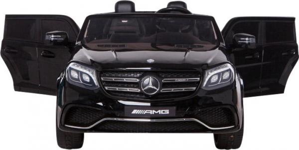 Mercedes 2 seater Licensed GLS 63 AMG SUV 4WD Jeep Electric Battery Ride on Car Black-12992