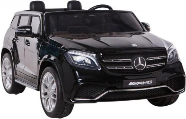 Mercedes 2 seater Licensed GLS 63 AMG SUV 4WD Jeep Electric Battery Ride on Car Black-12996