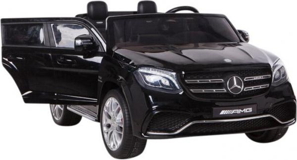 Mercedes 2 seater Licensed GLS 63 AMG SUV 4WD Jeep Electric Battery Ride on Car Black-12987
