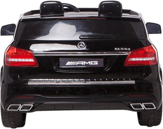 Mercedes 2 seater Licensed GLS 63 AMG SUV 4WD Jeep Electric Battery Ride on Car Black-12988