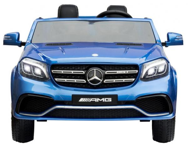 Mercedes 2 seater Licensed GLS 63 AMG SUV 4WD Jeep Electric Battery Ride on Car Blue-13086