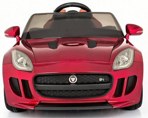 Kids Licensed Jaguar F-Type R Jag Sports Car with Remote Control 12v Electric / Battery Ride on Car - Red-13150