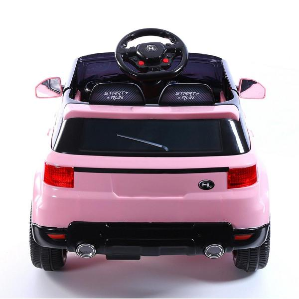 Kids Mini Range Rover HSE Sport Style 12v Electric Compact Jeep - Pink-13186