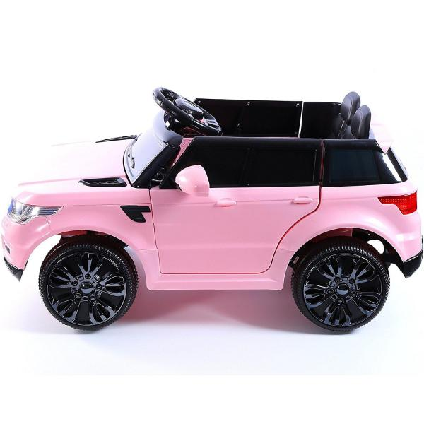 Kids Mini Range Rover HSE Sport Style 12v Electric Compact Jeep - Pink-13181