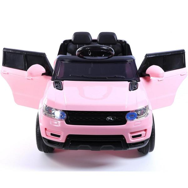 Kids Mini Range Rover HSE Sport Style 12v Electric Compact Jeep - Pink-13187