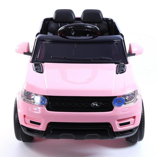 Kids Mini Range Rover HSE Sport Style 12v Electric Compact Jeep - Pink-13188