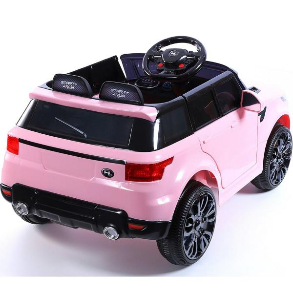Kids Mini Range Rover HSE Sport Style 12v Electric Compact Jeep - Pink-13182